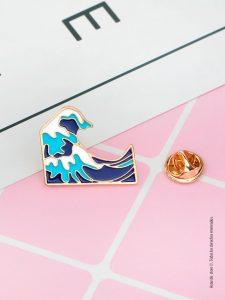 waves pin