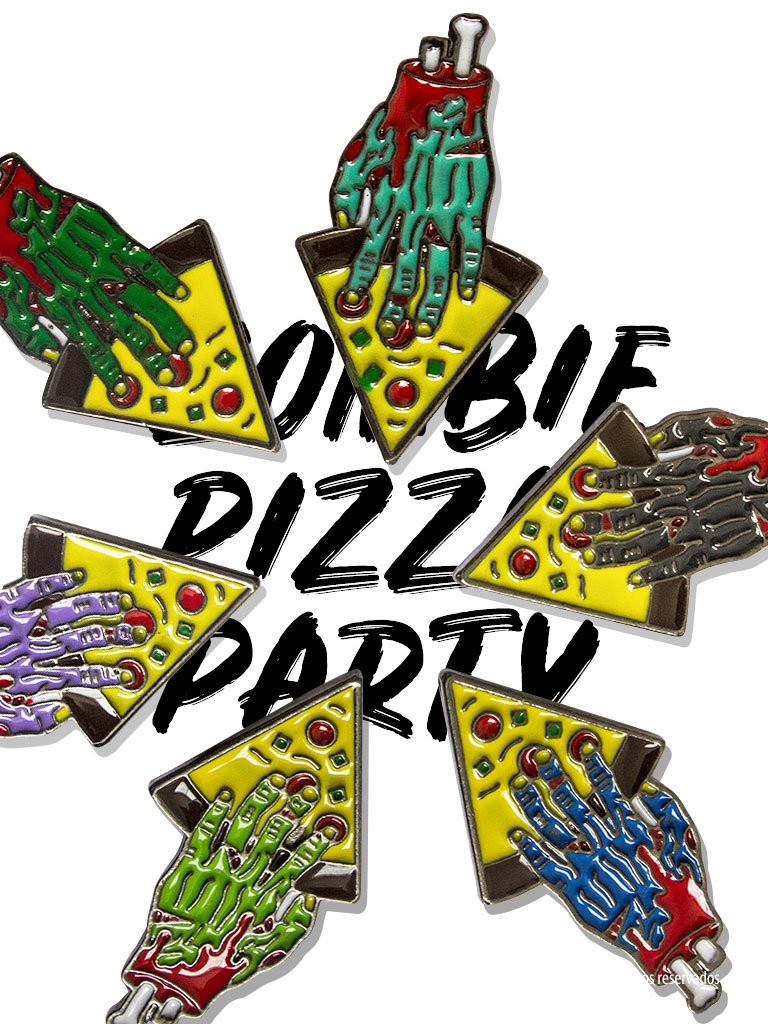 zombie pizza party