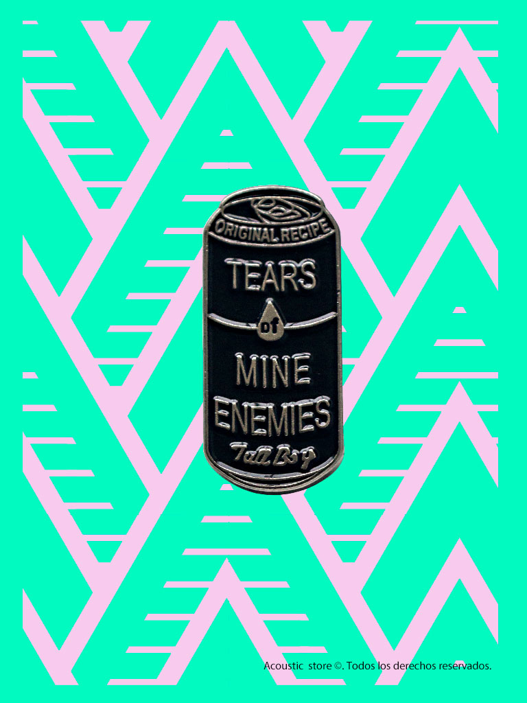 Pins tears of mine enemies