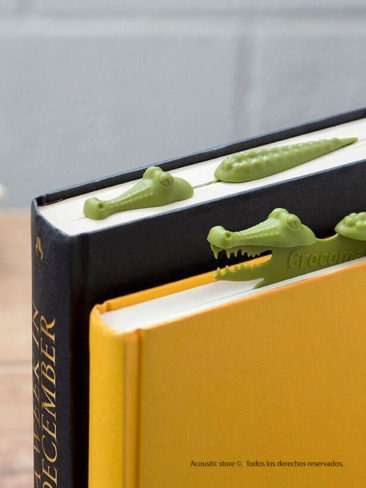 Bookmark cocodrilo