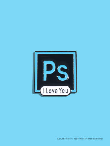 photoshop i love u pin