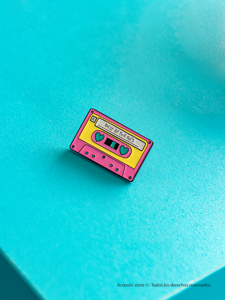 Pins Cassete best of the 90s