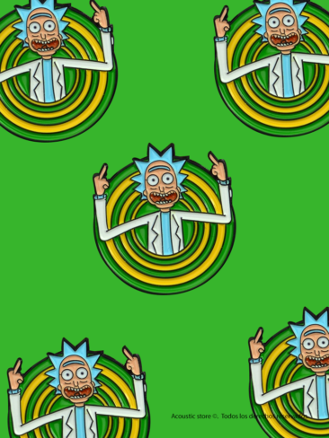 Pins rick and morty
